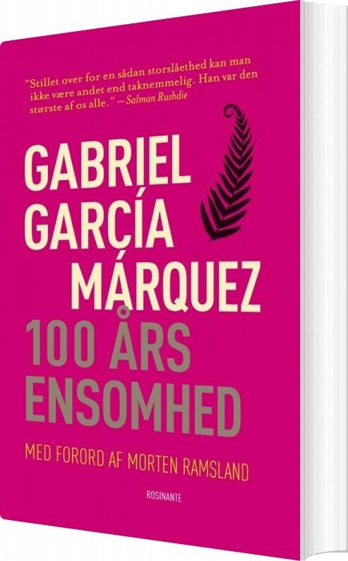 Image of   100 års Ensomhed, Klassiker - Gabriel García Márquez - Bog