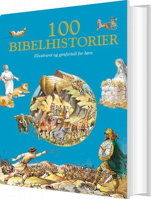 Image of   100 Bibelhistorier - Diverse - Bog