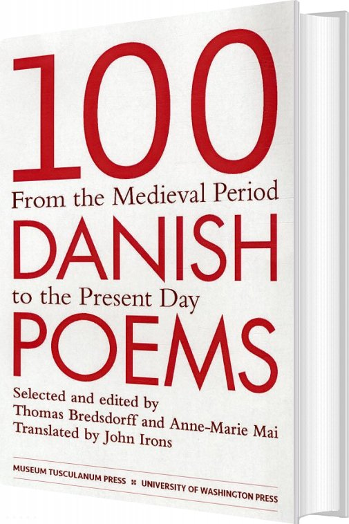 Image of   100 Danish Poems - Thomas Bredsdorff - Bog