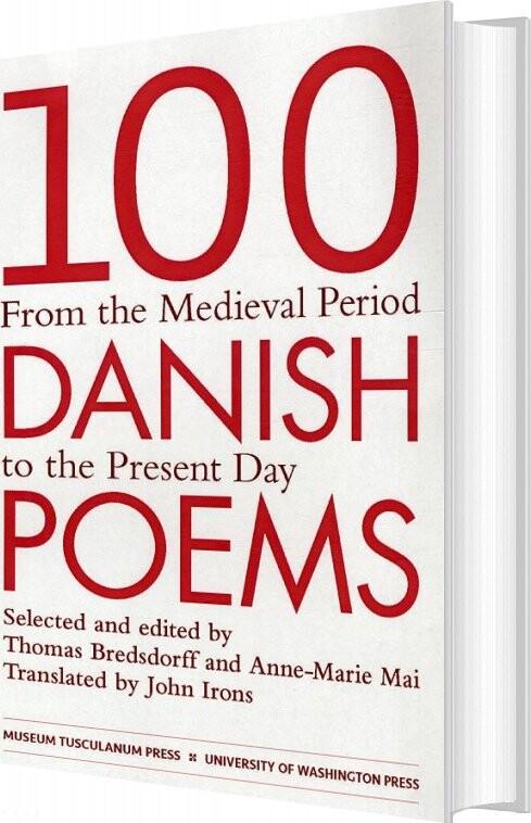 Image of 100 Danish Poems - Thomas Bredsdorff - Bog