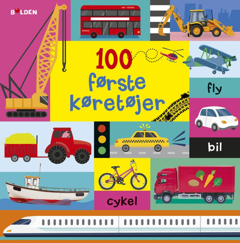 Image of   100 Første Køretøjer - Diverse - Bog