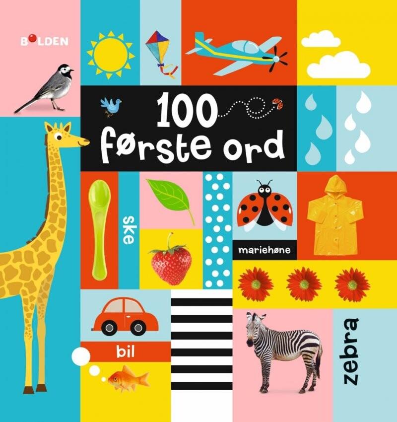 Image of   100 Første Ord - Diverse - Bog