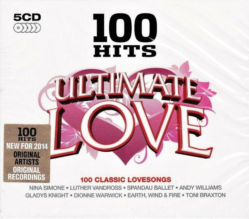 Image of   100 Hits - Ultimate Love - CD