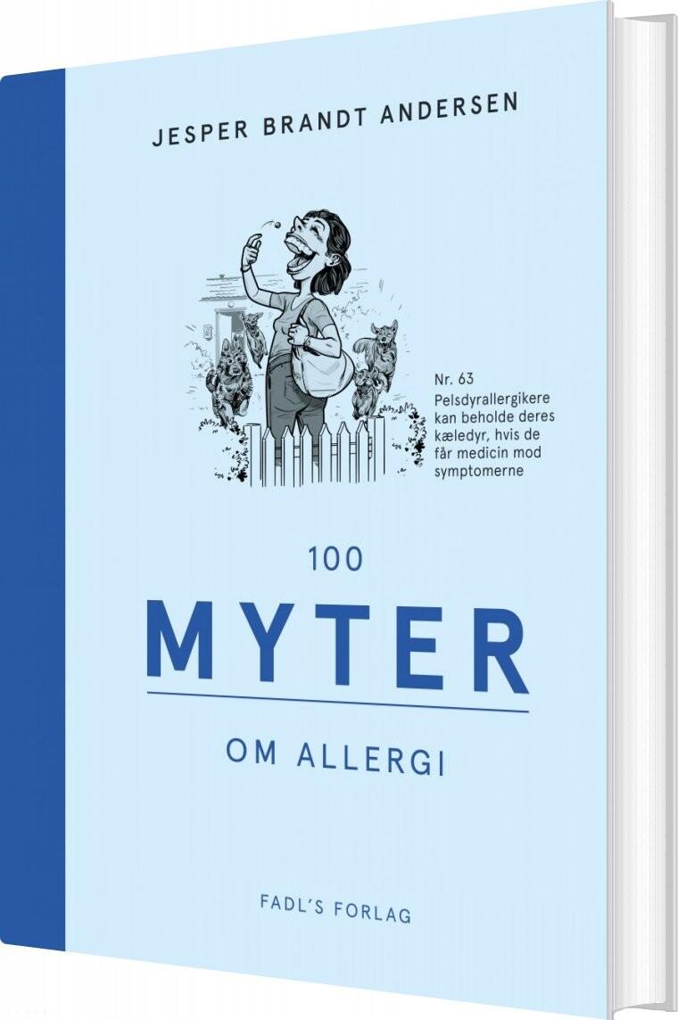 Image of   100 Myter Om Allergi - Jesper Brandt Andersen - Bog
