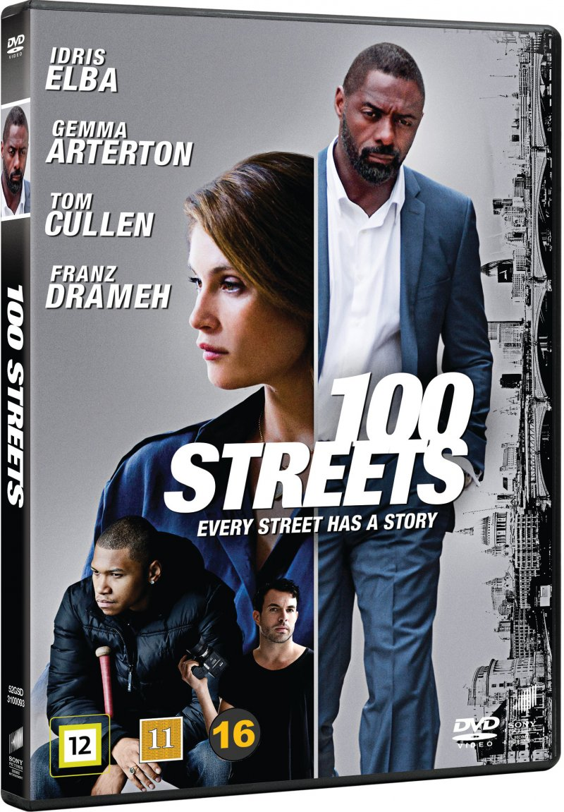 Image of   100 Streets - DVD - Film