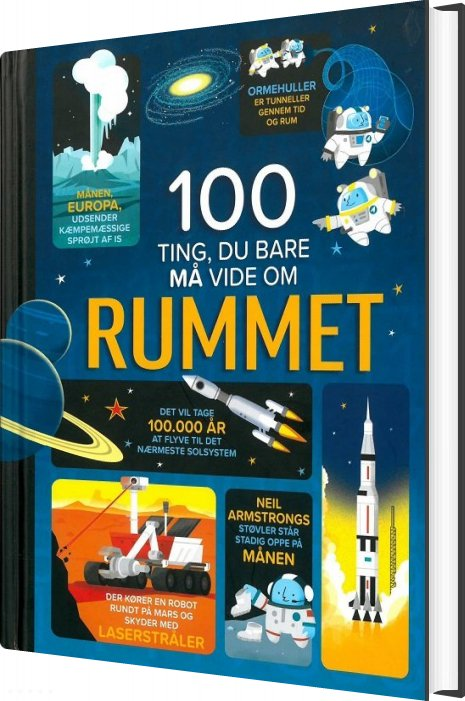 Image of   100 Ting, Du Bare Må Vide Om Rummet - Alex Frith - Bog