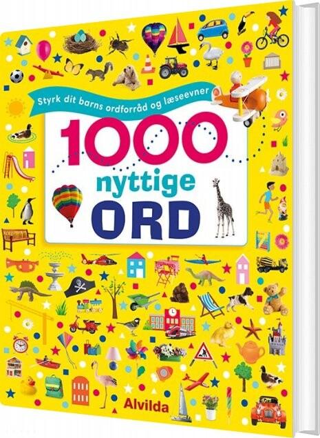 Image of   1000 Nyttige Ord - Styrk Dit Barns Ordforråd Og Læseevner - Bog