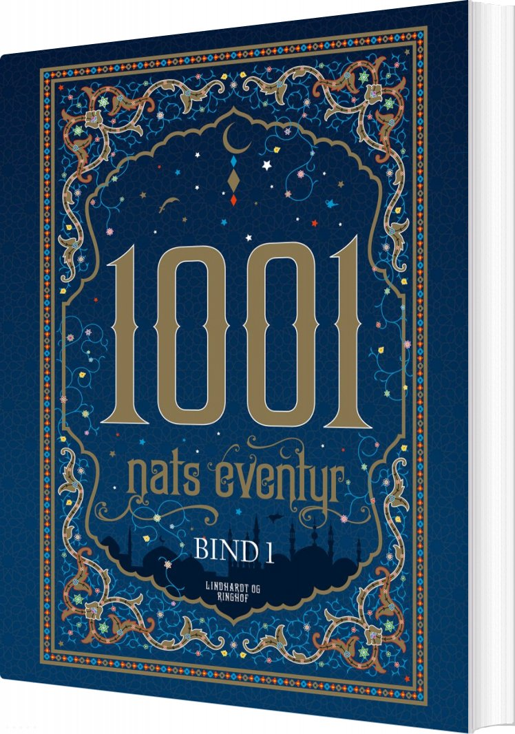 1001 Nats Eventyr Bind 1 - Diverse Forfattere - Bog