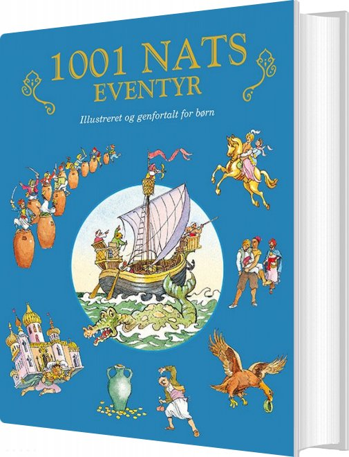 Image of   1001 Nats Eventyr - Val Biro - Bog