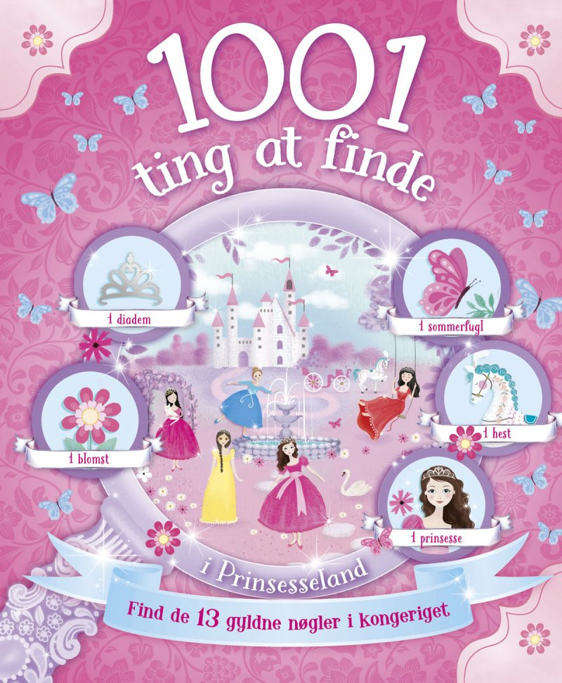 Image of   1001 Ting At Finde I Prinsesseland - Diverse - Bog