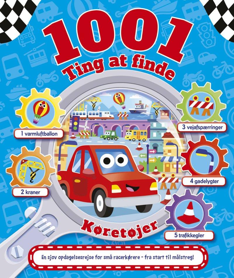 Image of 1001 Ting At Finde: Køretøjer - Diverse - Bog