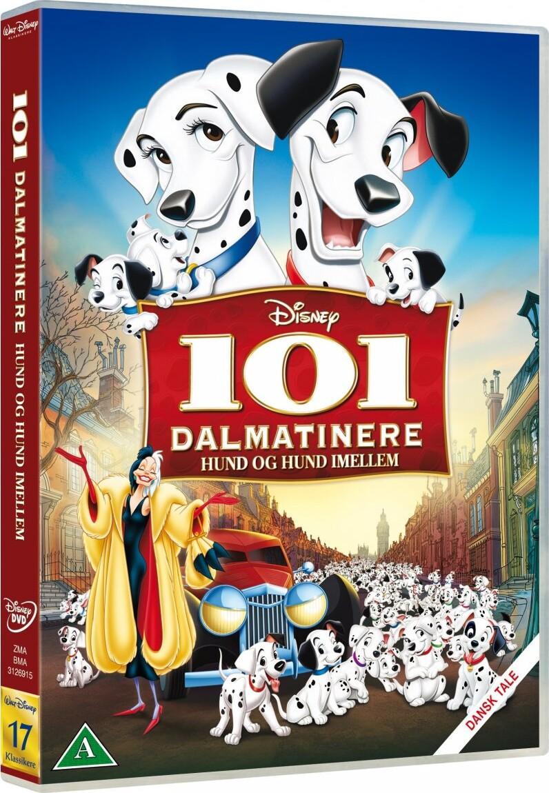 Billede af 101 Dalmatians / Dalmatinere - Disney - DVD - Film