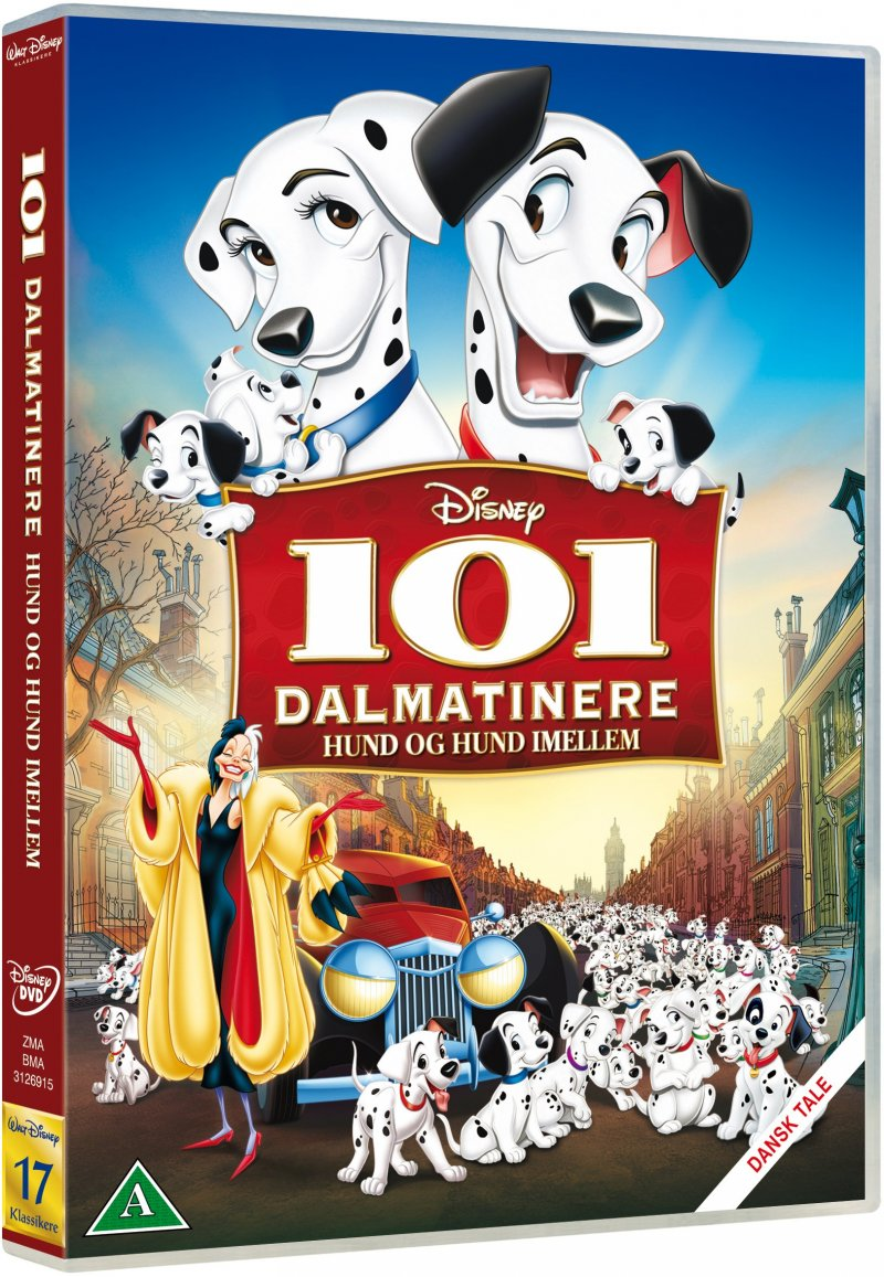 Image of   101 Dalmatians / Dalmatinere - Disney - DVD - Film