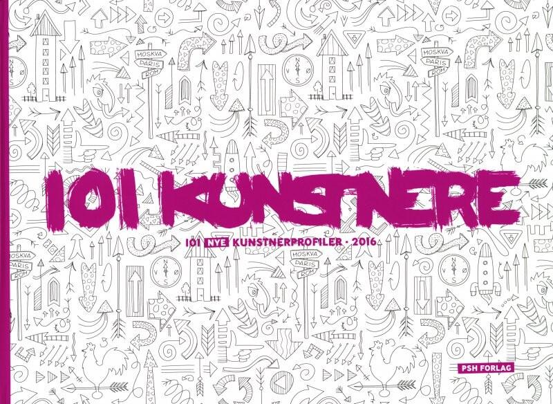 Image of   101 Kunstnere 2016 - Tom Jørgensen - Bog