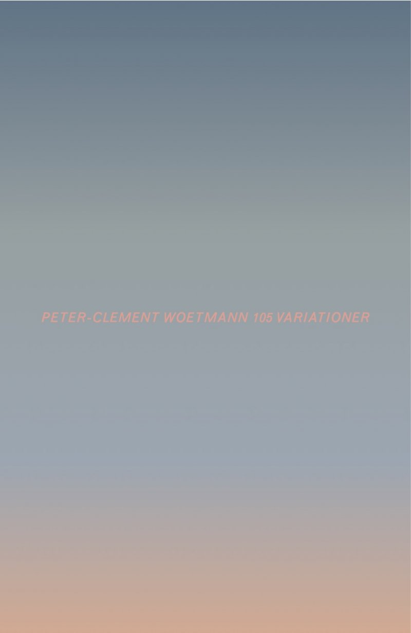 Image of   105 Variationer - Peter-clement Woetmann - Bog