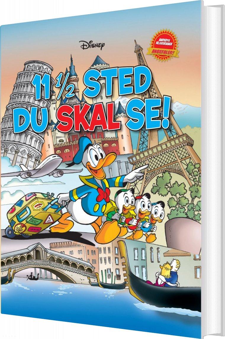 Image of   11 1/2 Sted Du Skal Se! - Disney - Tegneserie