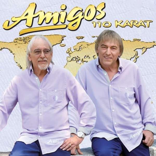 Billede af Amigos - 110 Karat - CD