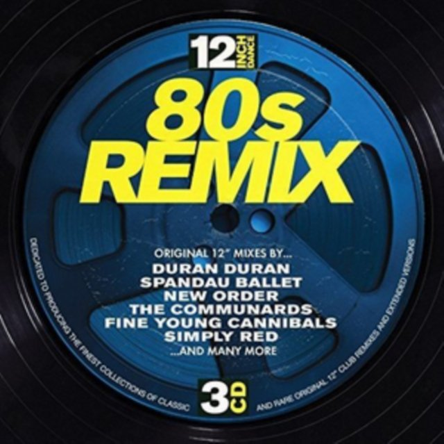 Image of   12 Inch Dance: 80s Remix - CD