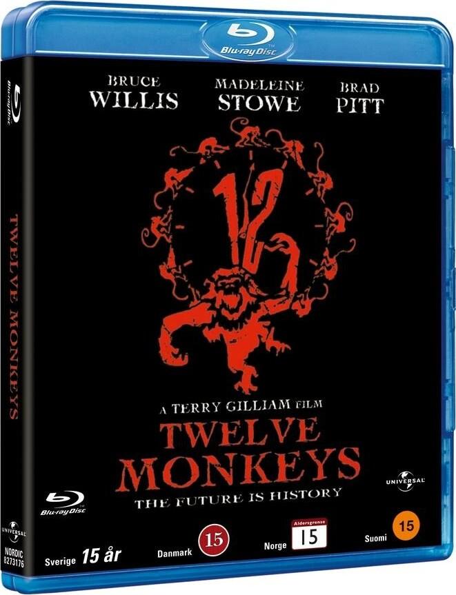 Image of   12 Monkeys - Blu-Ray