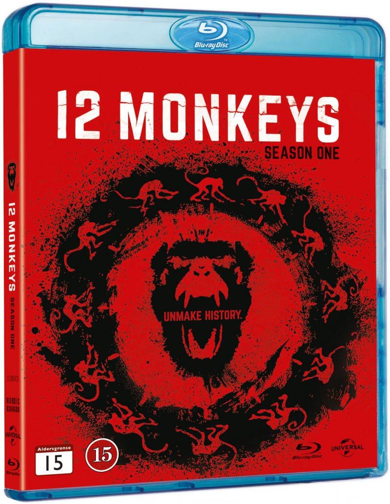 Image of   12 Monkeys: Sæson 1 - Blu-Ray - Tv-serie