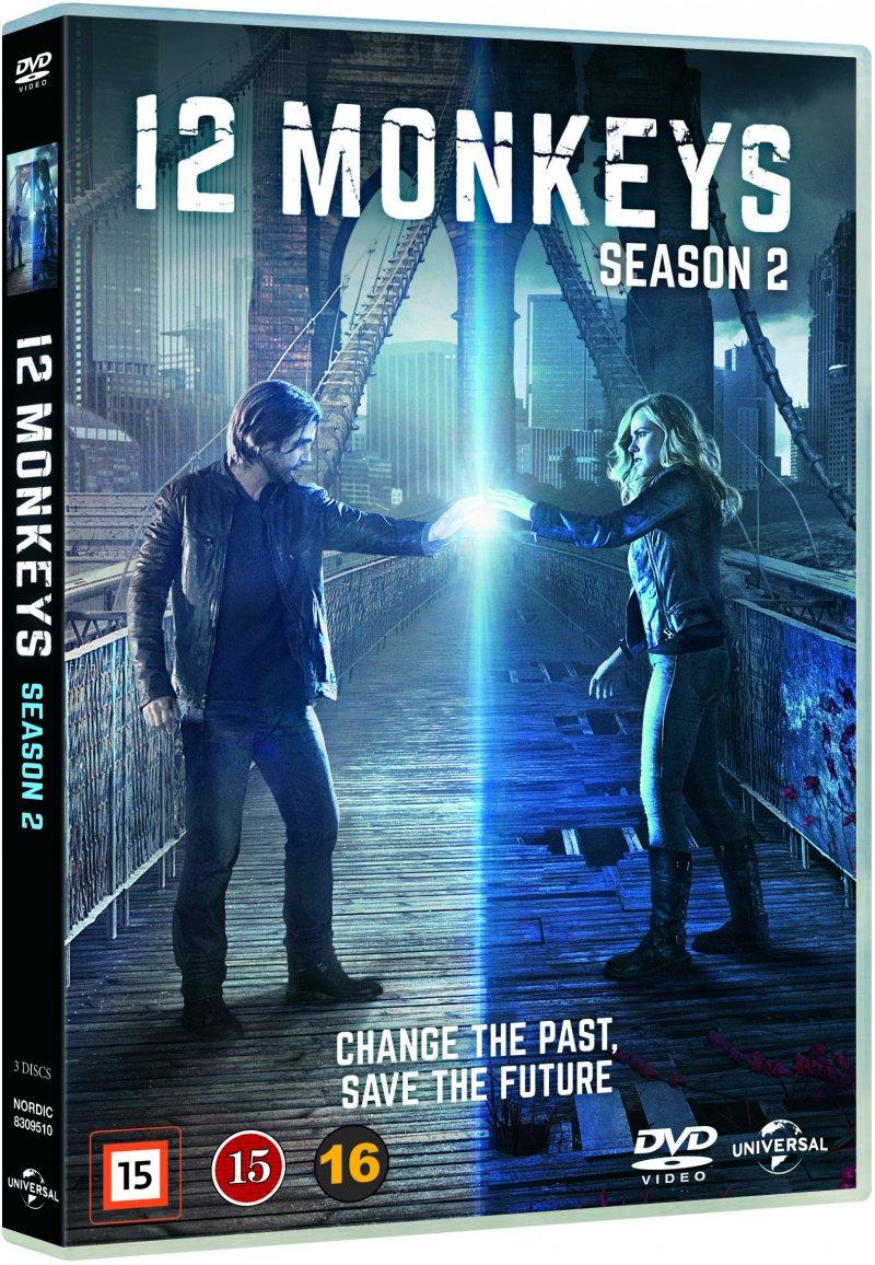 Image of   12 Monkeys - Sæson 2 - DVD - Tv-serie