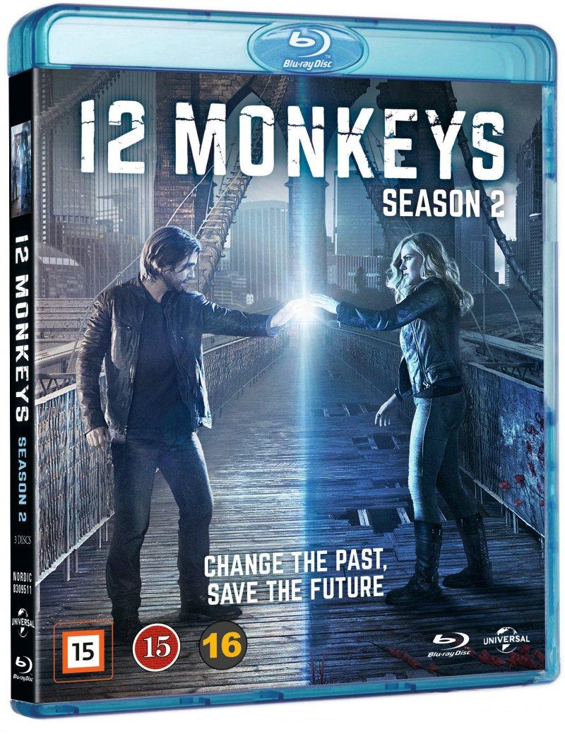 Image of   12 Monkeys - Sæson 2 - Blu-Ray - Tv-serie