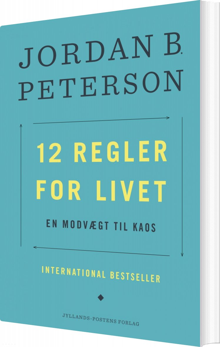 Image of   12 Regler For Livet - Jordan Peterson - Bog