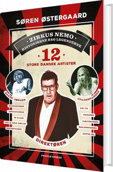 Image of   12 Store Danske Artister - Søren østergaard - Bog