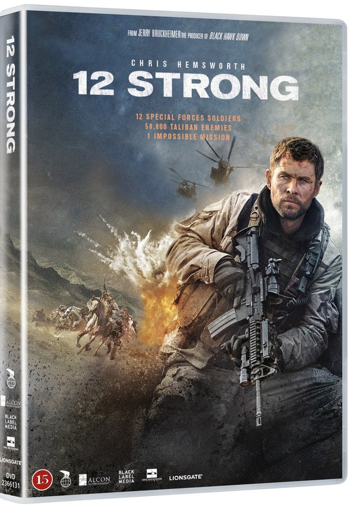 Image of   12 Strong - DVD - Film