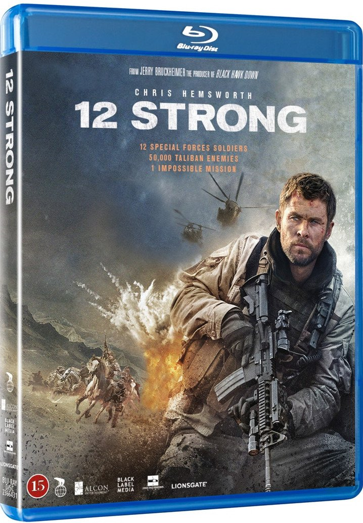 Image of   12 Strong - Blu-Ray