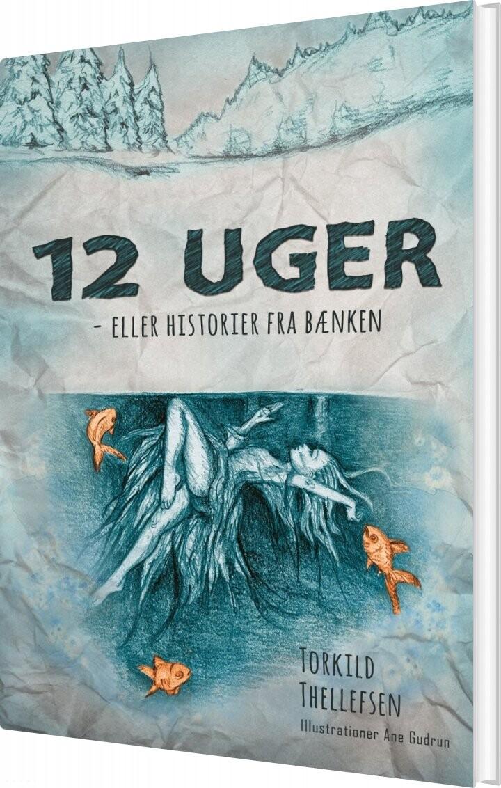 Image of   12 Uger - Eller Historier Fra Bænken - Torkild Thellefsen - Bog