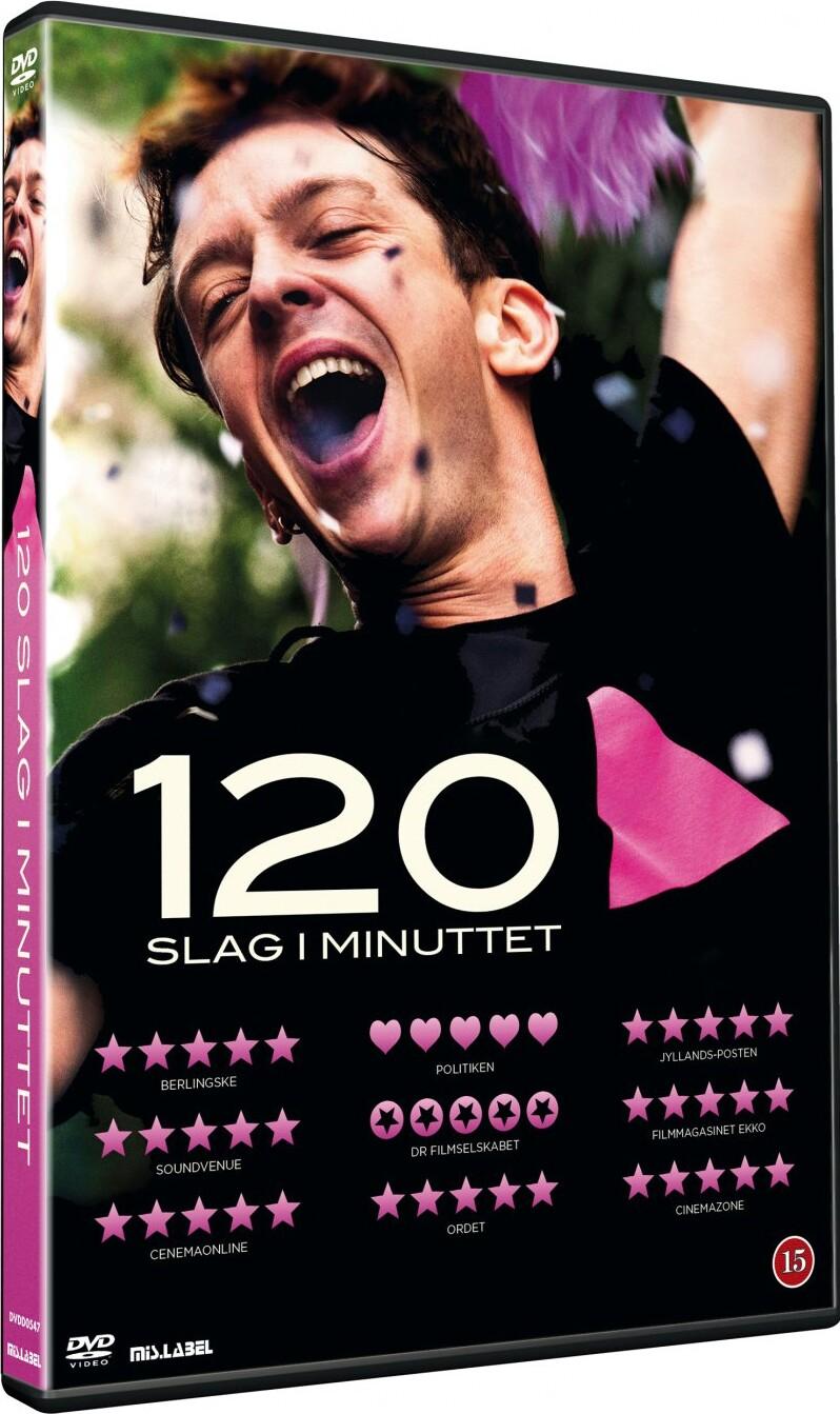 Image of   120 Slag I Minuttet - DVD - Film