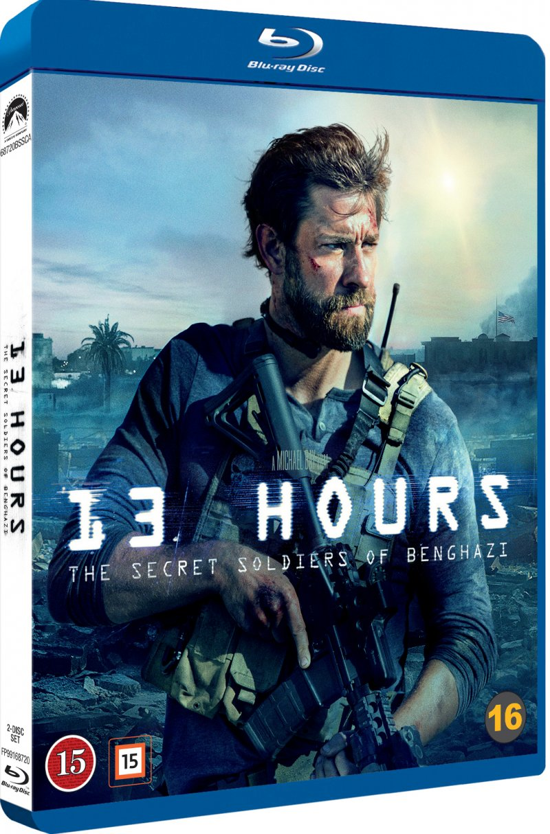 Image of   13 Hours: The Secret Soldiers Of Benghazi - Blu-Ray