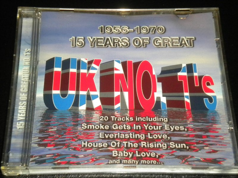Image of   15 Years Of Great Uk No 1s - CD