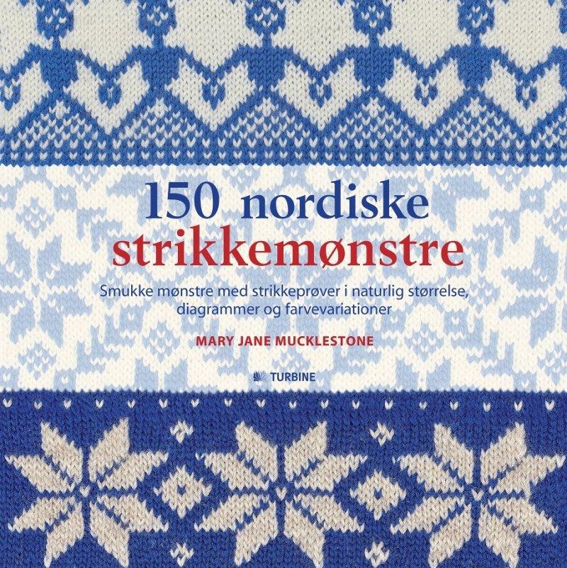 Image of   150 Nordiske Strikkemønstre - Mary Jane Mucklestone - Bog