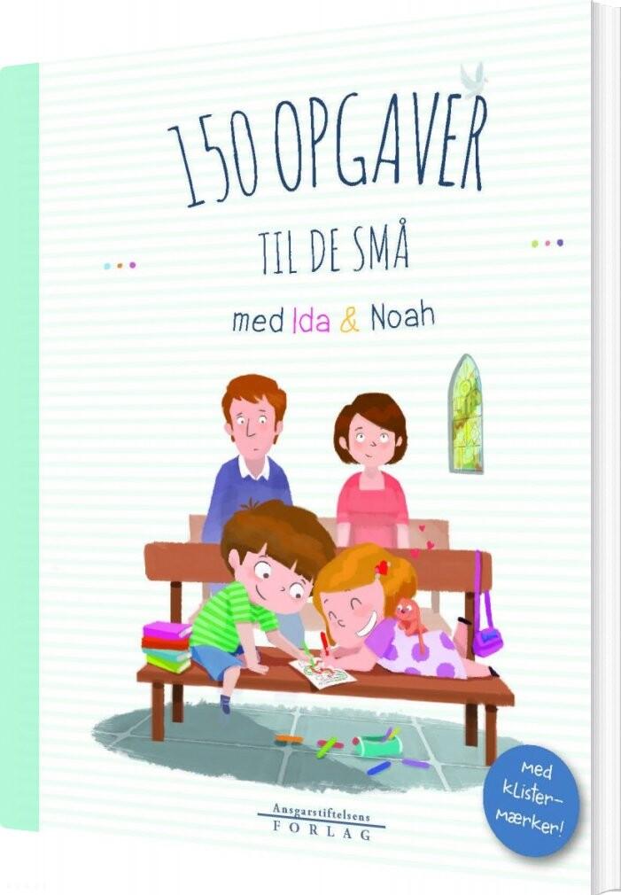 Image of   150 Opgaver Til De Små - Marie-victoire Huet - Bog