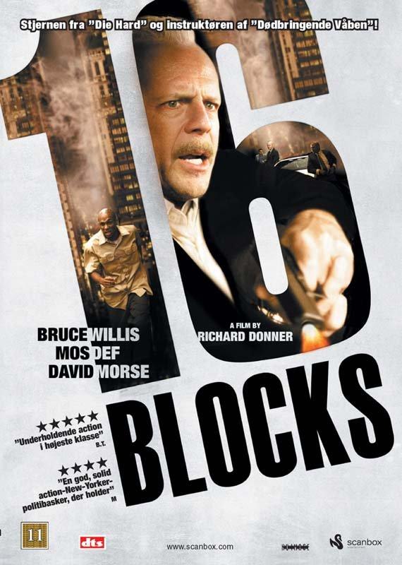 Image of   16 Blocks - DVD - Film