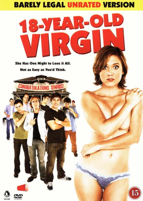 Image of   18 Year Old Virgin - DVD - Film