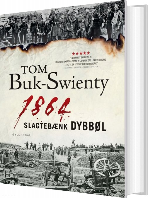 Image of   1864. Slagtebænk Dybbøl - Tom Buk-swienty - Bog