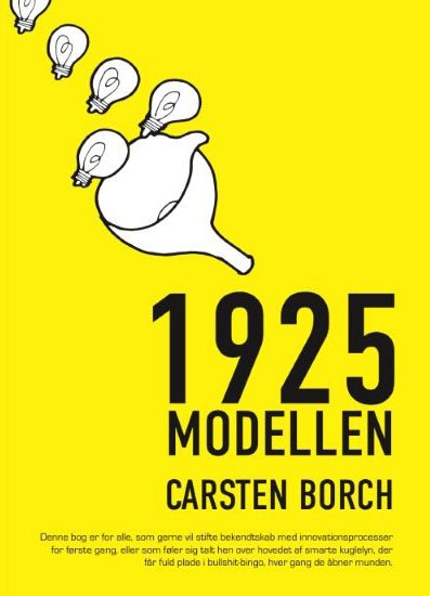 Image of   1925 Modellen - Carsten Borch - Bog