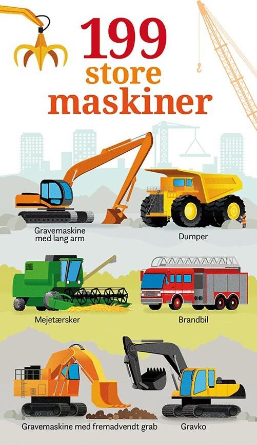Image of   199 Store Maskiner - Diverse - Bog