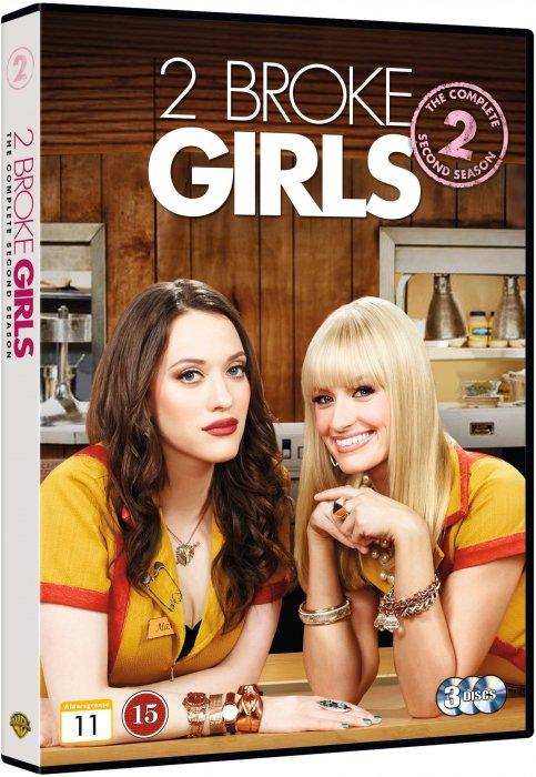 Image of   2 Broke Girls - Sæson 2 - DVD - Tv-serie