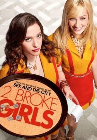 Image of   2 Broke Girls - Sæson 3 - DVD - Tv-serie