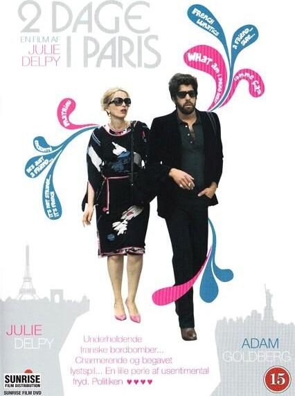 Image of   2 Days In Paris / 2 Dage I Paris - DVD - Film