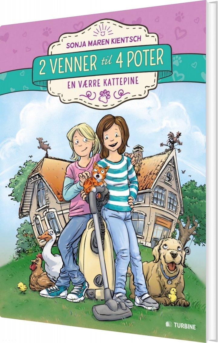 Image of   2 Venner Til 4 Poter - Sonja Maren Kientsch - Bog