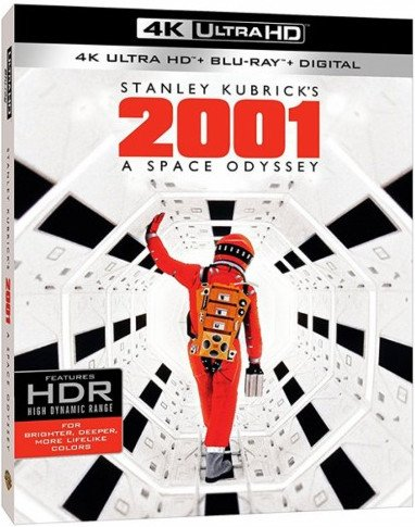 Image of   2001 - A Space Odyssey - 4K Blu-Ray