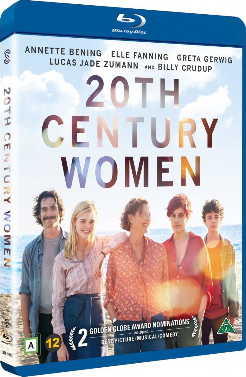 Image of   20th Century Women / Alletiders Kvinder - Blu-Ray
