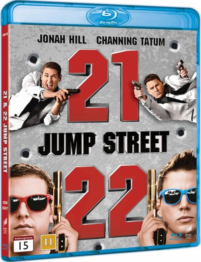 Image of   21 Jump Street // 22 Jump Street - Blu-Ray