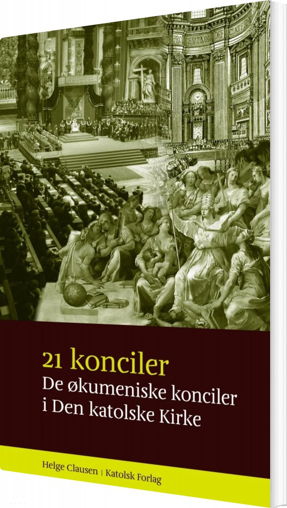 Billede af 21 Konciler - Helge Clausen - Bog