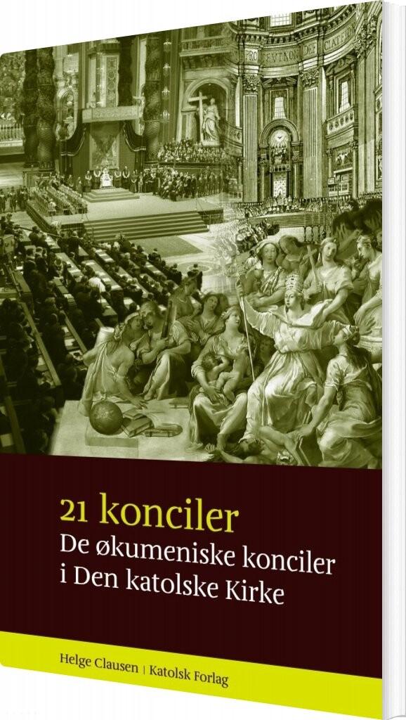 Image of   21 Konciler - Helge Clausen - Bog